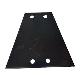 4 Hole Triangular Coupling Plate