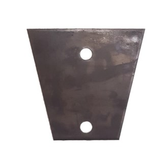 2 HOLE  TRIANGLE  COUPLING  MOUNT PLATE