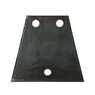 3  HOLE  TRIANGLE COUPLING MOUN PLATE