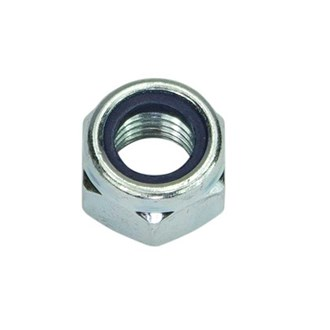 M16 Nyloc Nut Galvanised
