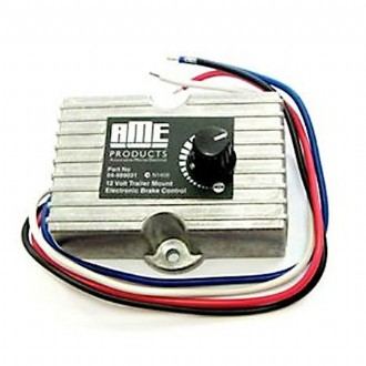 In-Car/Chassis Mount 12V Aluminium Body Brake Controller [For Trailers Under 2 Tonne]