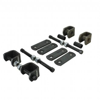 45mm SHACKLE HANGER SINGLE AXLE KIT