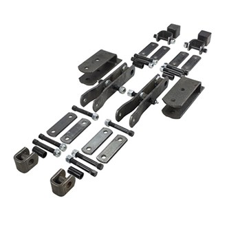 45mm Shackle Spring Hanger - Tandem Kit